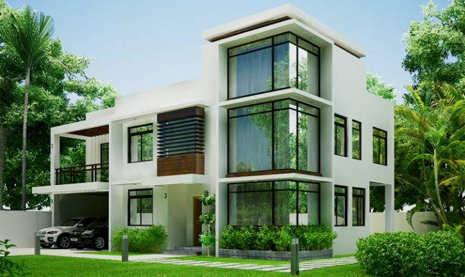 Modern Green Home Design