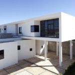Modern Hacienda Style Home Built Pillars