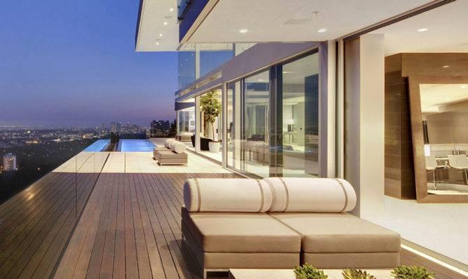 Modern Hollywood Mansion Beautiful Panoramic