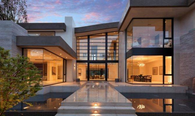 Modern Home Big Windows
