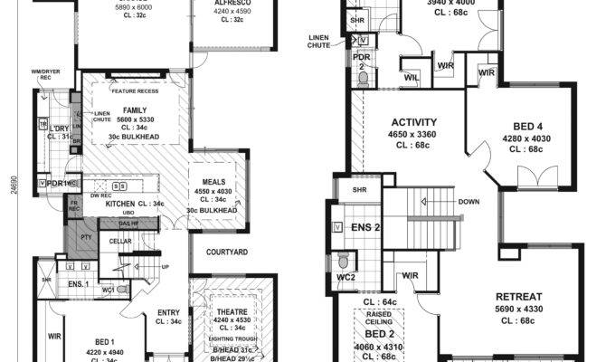 Modern Home Designs Floor Plans Design Interior