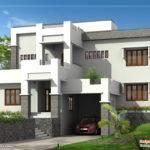 Modern Home Elevation Kerala