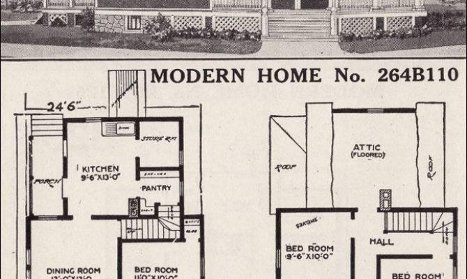 Modern Home Farmhouse Style Sears House Plans