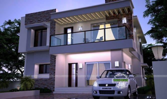 Modern Home Kerala Design Floor Plans