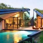Modern Home Modeled After Native American Pit Hut Met