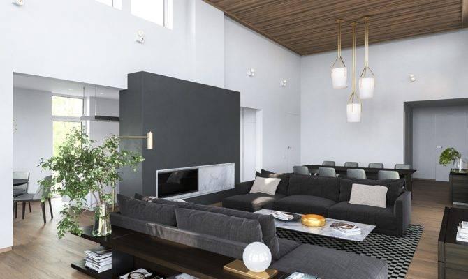 Modern Homes Many Shades Gray