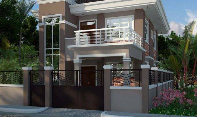 Modern House Balcony Home Design