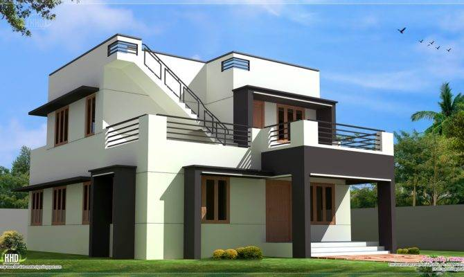 Modern House Design Feet Kerala Home