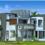 Modern House Design Square Feet Home Kerala Plans