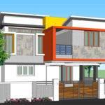 Modern House Design Square Yards
