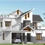 Modern House Elevation Feet Kerala Home