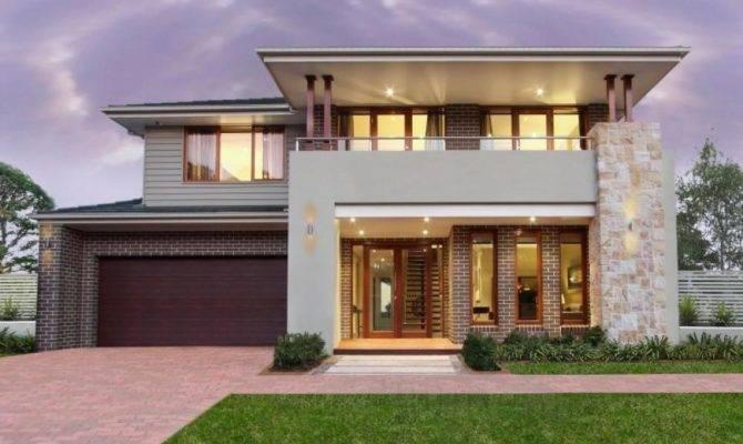 Modern House Facade Design Ideas Front
