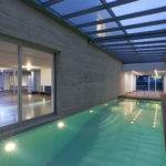 Modern House Indoor Pool Design