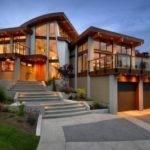 Modern House Interior Merge Nature Digsdigs