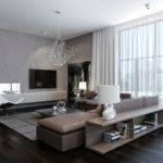 Modern House Interiors Dynamic Texture Pattern