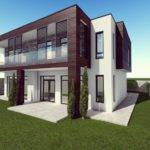Modern House Model Game Ready Cgtrader