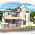 Modern House Plan Home Appliance