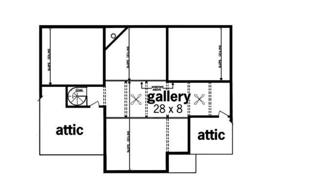 Modern House Plan Second Floor Plans More