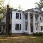 Modern House Plans Historic Greek Revival Plan Antebellum