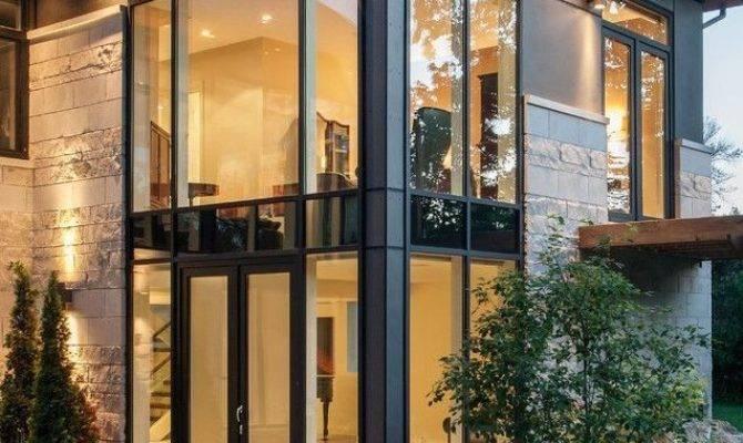 Modern House Plans Lots Windows Inspirational