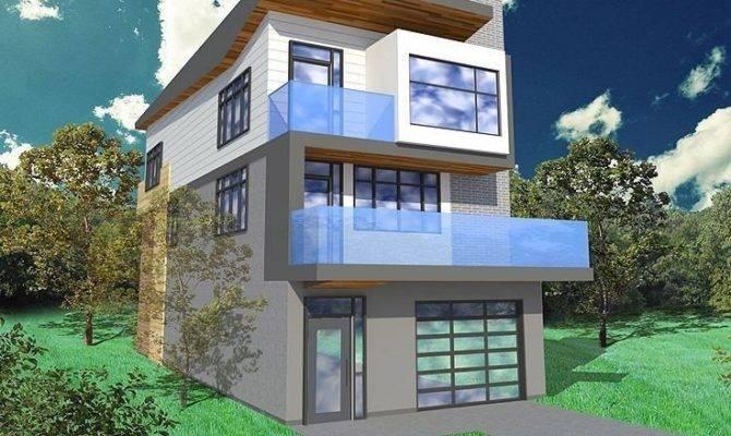 Modern House Plans Lots Windows New