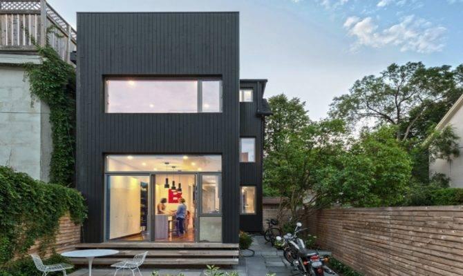 Modern House Plans Narrow Lots