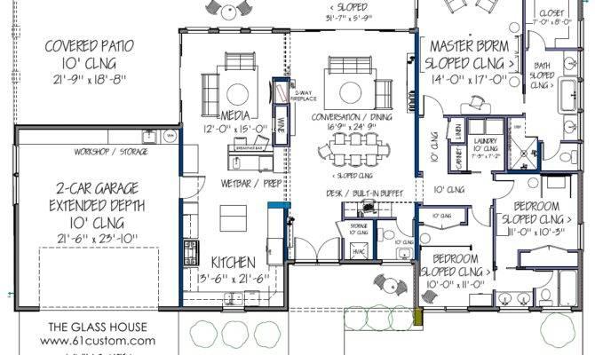 Modern House Plans Plan