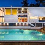 Modern House Plans Pool Architecture