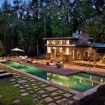 Modern House Plans Pool Fancy Elegant Ideas