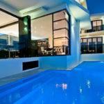 Modern House Plans Pool Minimalist Natural Design Luxury