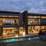 Modern House Plans Pool