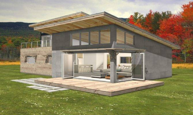 Modern House Shed Roof