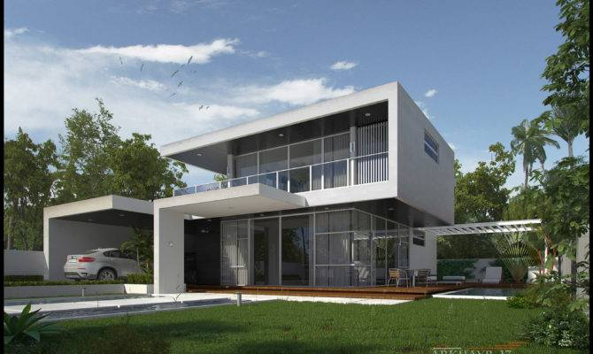 Modern Houses Simple House Plan