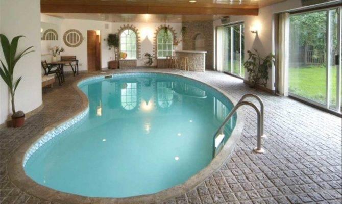 Modern Indoor Swimming Pools Design Ideas Home Interior
