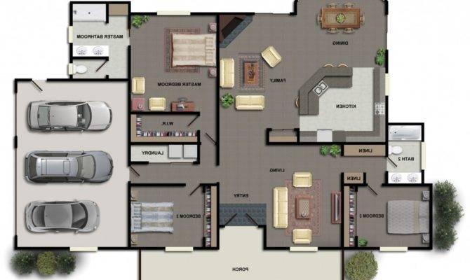 Modern Industrial House Plans Homes Floor