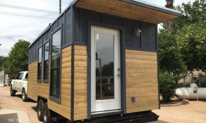 Modern Industrial Tiny House