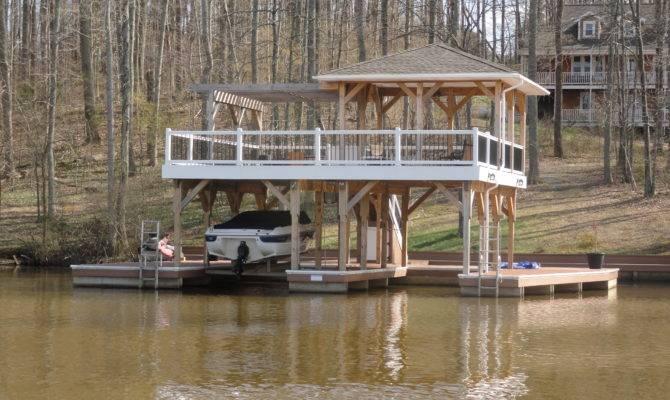 Modern Interior Lake Boathouse Designs