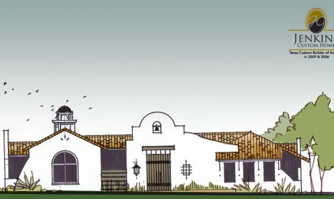 Modern Interpretation Spanish Mission Designed Built Award