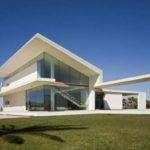 Modern Italian Villa Architecture Glass House Theme