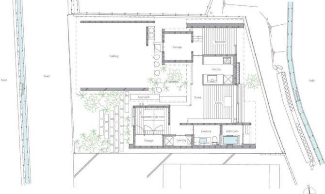 Modern Japanese Courtyard House Mitsutomo