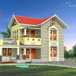 Modern Kerala House Model