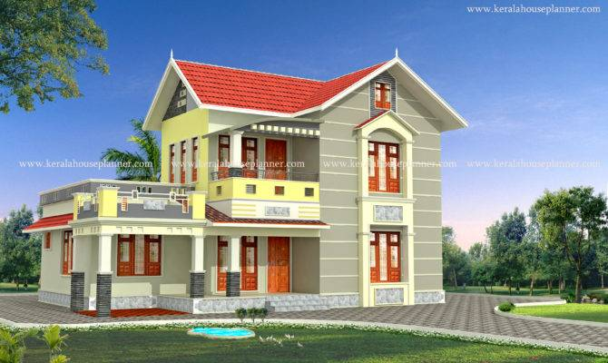 Modern Kerala House Model