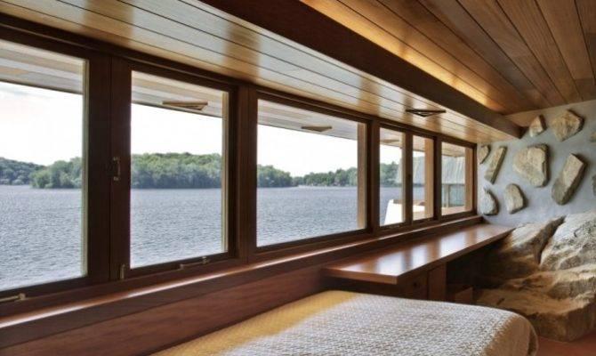 Modern Lake House Bedroom Interior Design Ideas