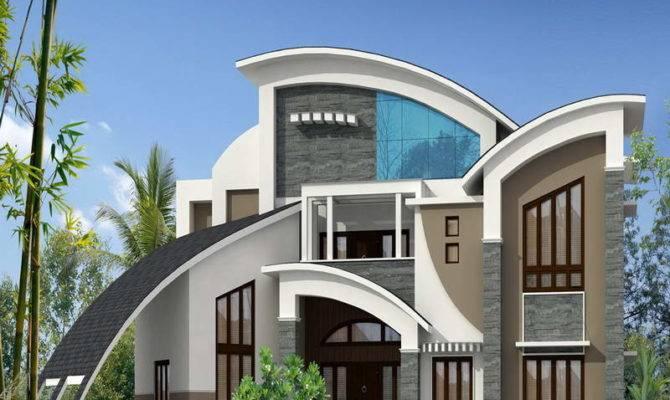 Modern Life Fancy Design Unique Styles Houses