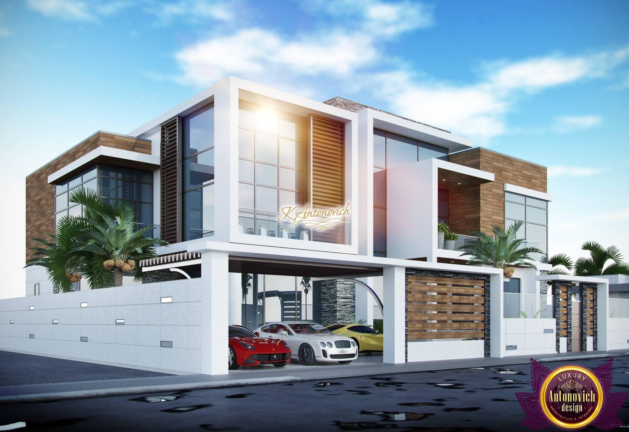 Modern Luxury Villa Exterior Design Home Plans Blueprints 141595