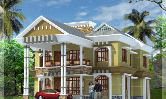 Modern Luxury Villa Kerala Indian Home Decor