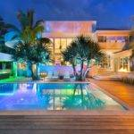 Modern Mansion Peaceful Luxury During Daylight Romantic Lounge