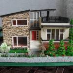 Modern Miniature Model House Property Scale Emmynhiros