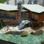 Modern Miniatures Pinterest Model House Scale Models
