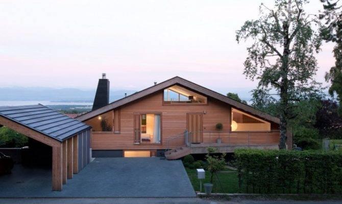 Modern Minimalist Swiss Chalet Most Beautiful Houses World